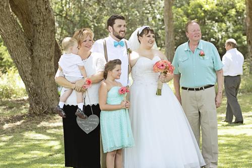 Brownfamilyweddingphoto